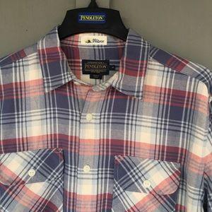 NWT • Pendleton plaid button up shirt •
